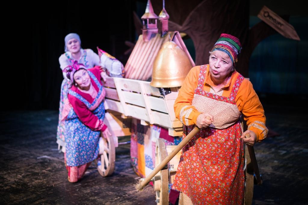 сказка о рыбаке и рыбке в театре