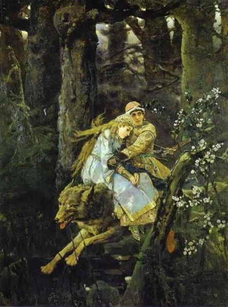 Иван царевич и серый волк картинки